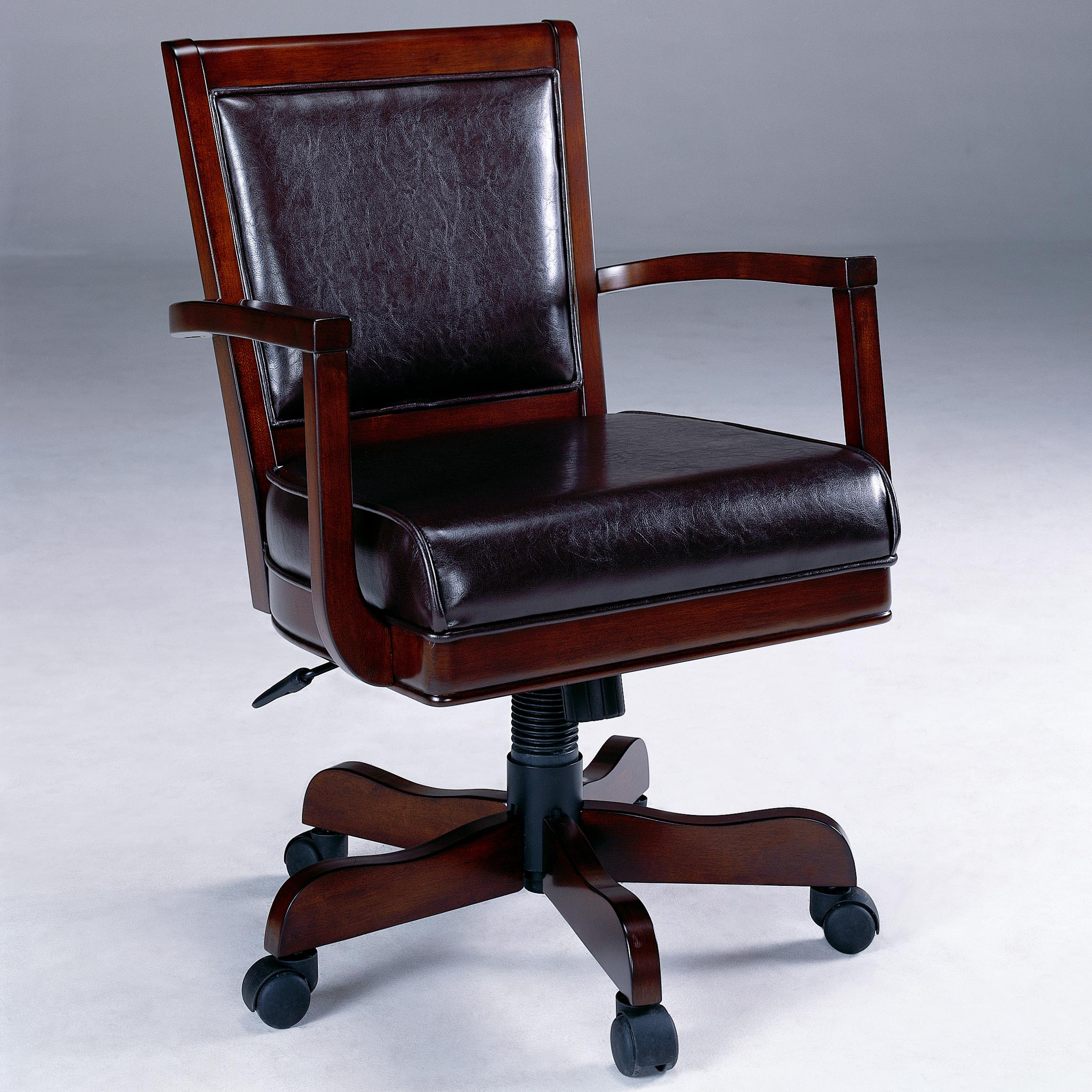 Ambassador Caster Game Chair by Hillsdale at Mueller Furniture