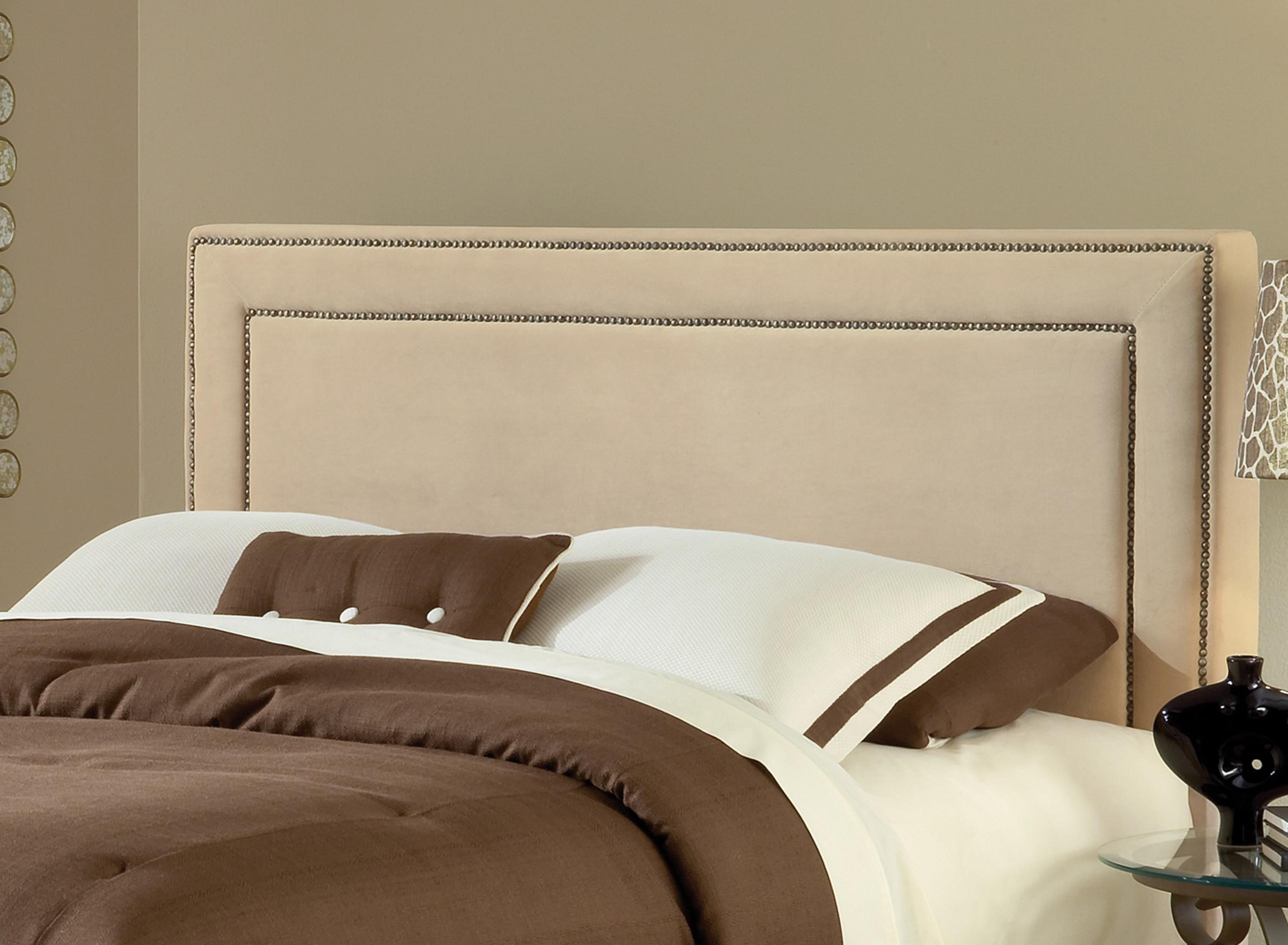 Amber Buckwheat Fabric Headboard - King by Hillsdale at Simply Home by Lindy's