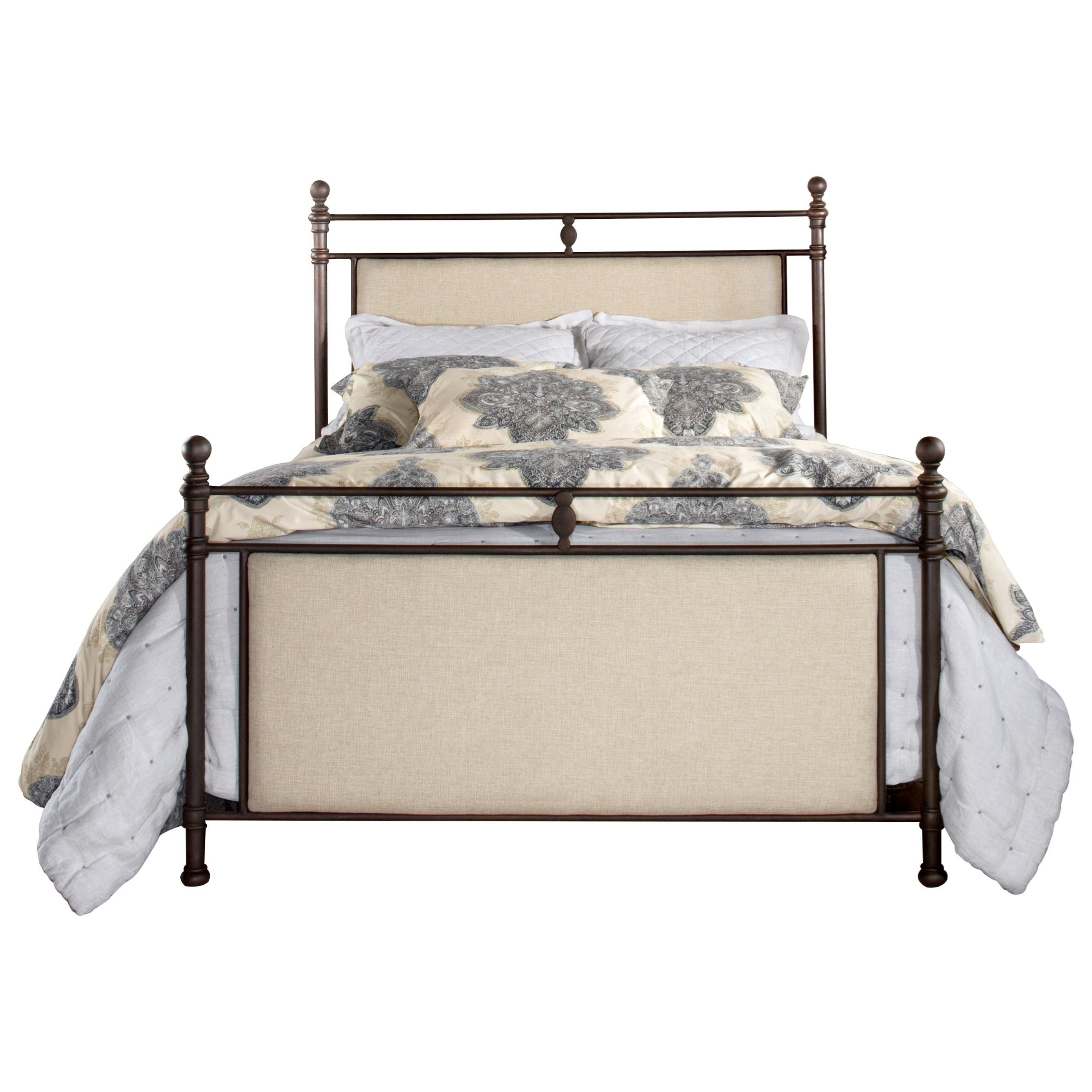 Ashley Queen Upholstered Bed by Hillsdale at Carolina Direct