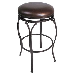 "Hillsdale Backless Bar Stools 24.5"" Lakeview Backless Counter Stool"