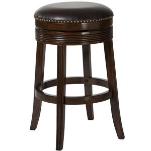 "26"" Tillman Backless Swivel Counter Stool"