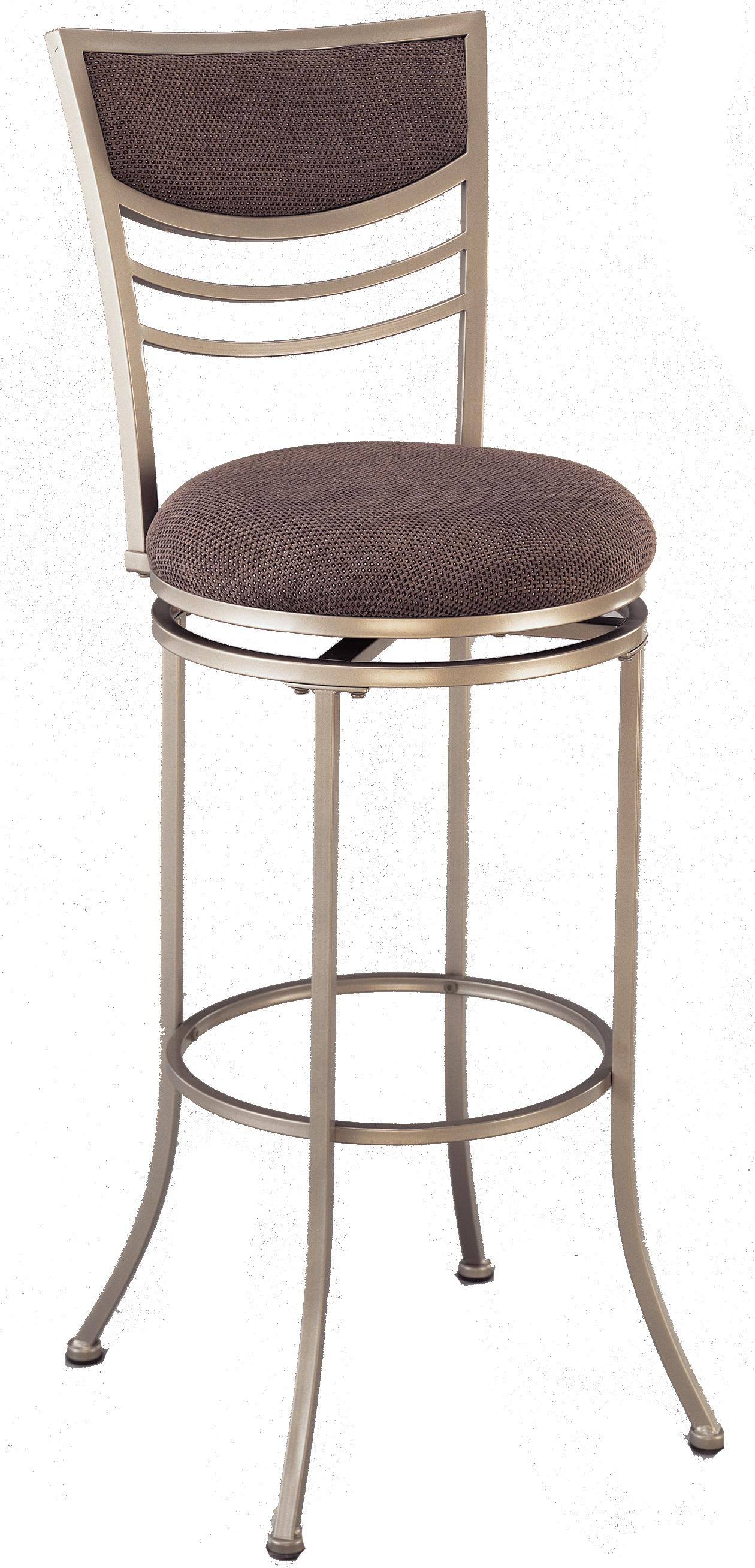 """Stools 30"""" Bar Height Amherst Swivel Stool by Hillsdale at Mueller Furniture"""