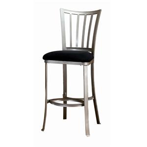 """Hillsdale Metal Stools 26"""" Counter Height Delray Stool"""