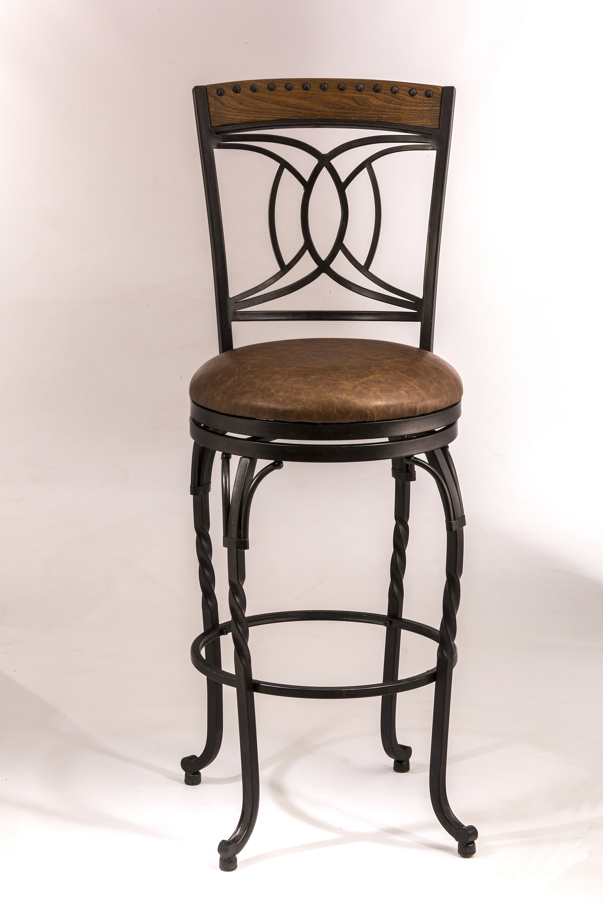 Stools Swivel Counter Stool by Hillsdale at Mueller Furniture