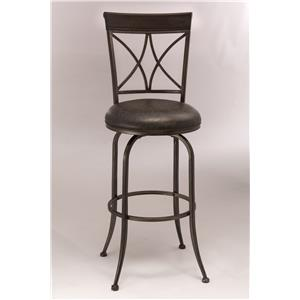 Metal Swivel Bar Height Stool