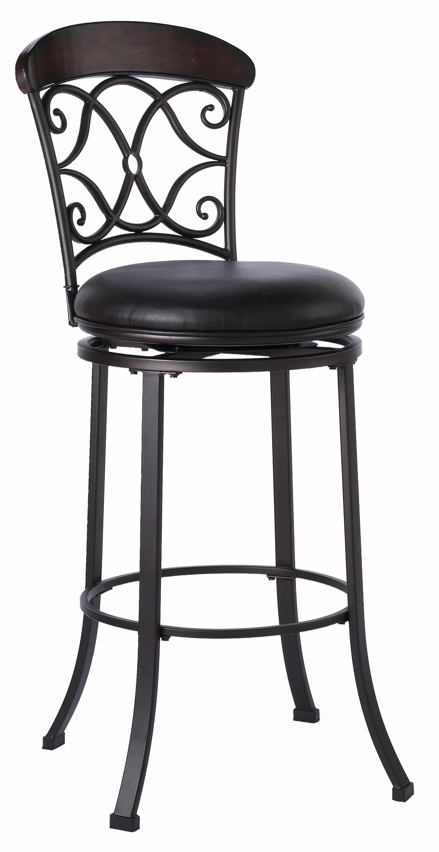 Stools Counter Height Swivel Stool by Hillsdale at Crowley Furniture & Mattress