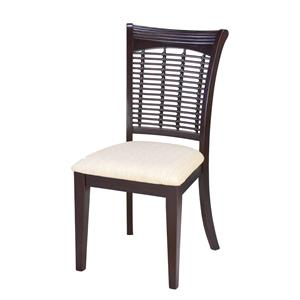 Hillsdale Bayberry and Glenmary Set of Two Wicker Chairs