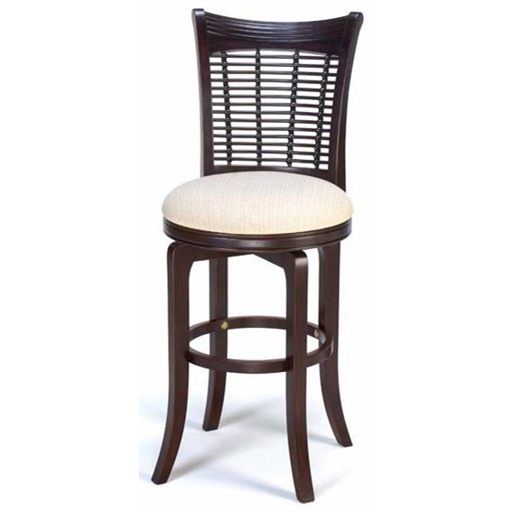Bayberry and Glenmary Swivel Bar Stool by Hillsdale at SuperStore