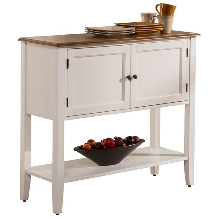 Bayberry White Dining Server by Hillsdale at SuperStore