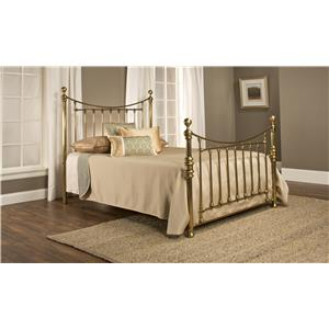 Hillsdale Metal Beds Old England Queen Bed Set Without Rails