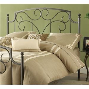 Hillsdale Metal Beds Cartwright King Headboard with Rails