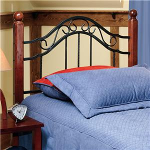 Hillsdale Metal Beds Twin Madison Headboard