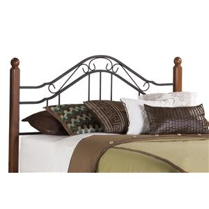 Hillsdale Metal Beds Full/Queen Headboard with Rails