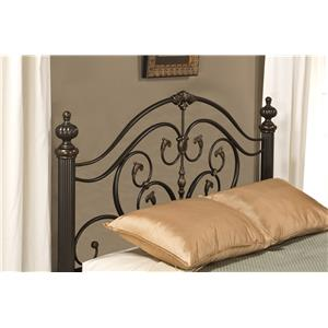 Hillsdale Metal Beds Grand Isle Queen Headboard with Rails