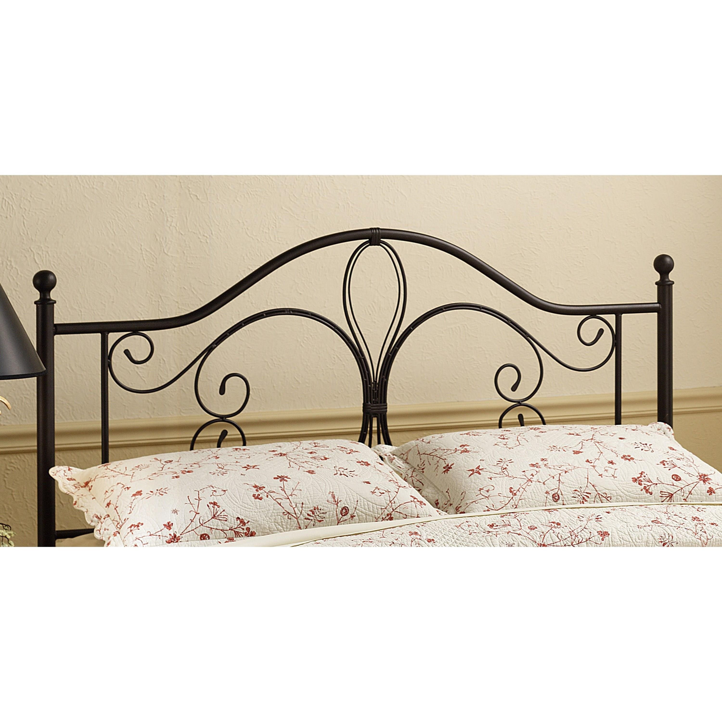 Metal Beds Full/Queen Milwaukee Headboard by Hillsdale at Esprit Decor Home Furnishings