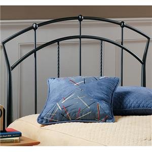 Hillsdale Metal Beds Vancouver Twin Headboard with Rails