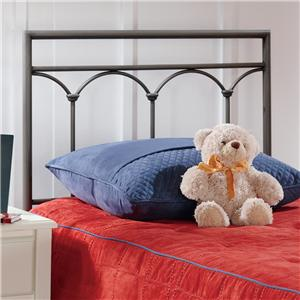 Hillsdale Metal Beds Twin McKenzie Headboard