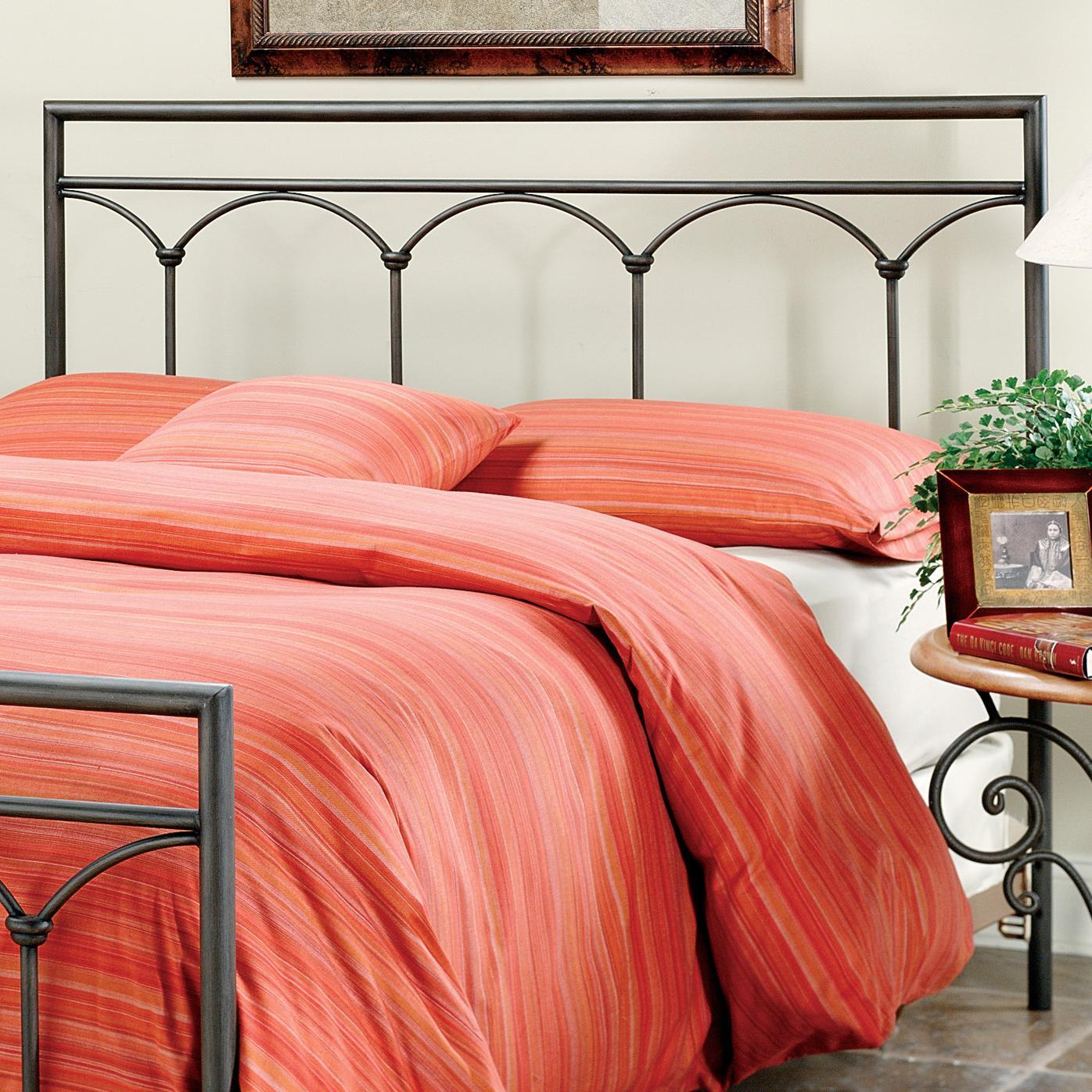 Metal Beds Full McKenzie Headboard by Hillsdale at Steger's Furniture