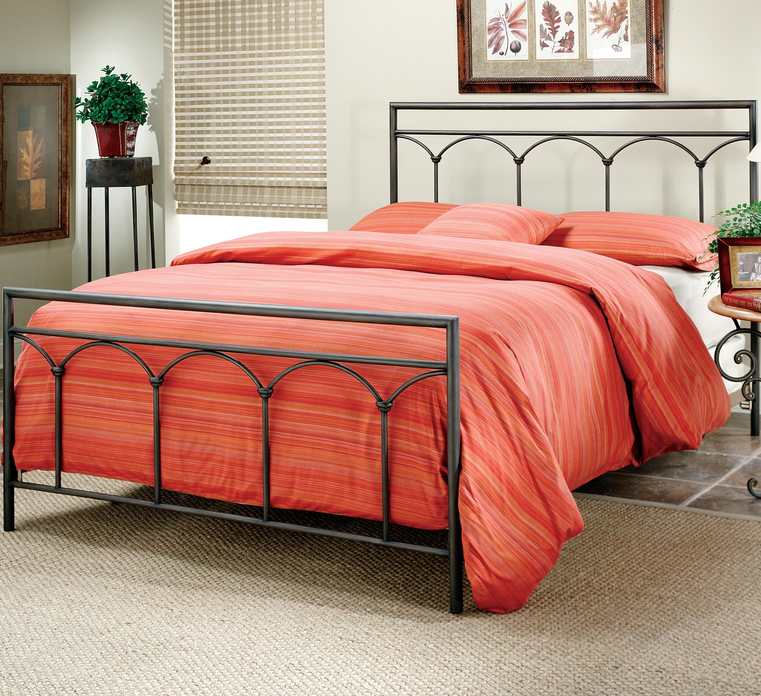 Metal Beds Queen McKenzie Bed by Hillsdale at Steger's Furniture