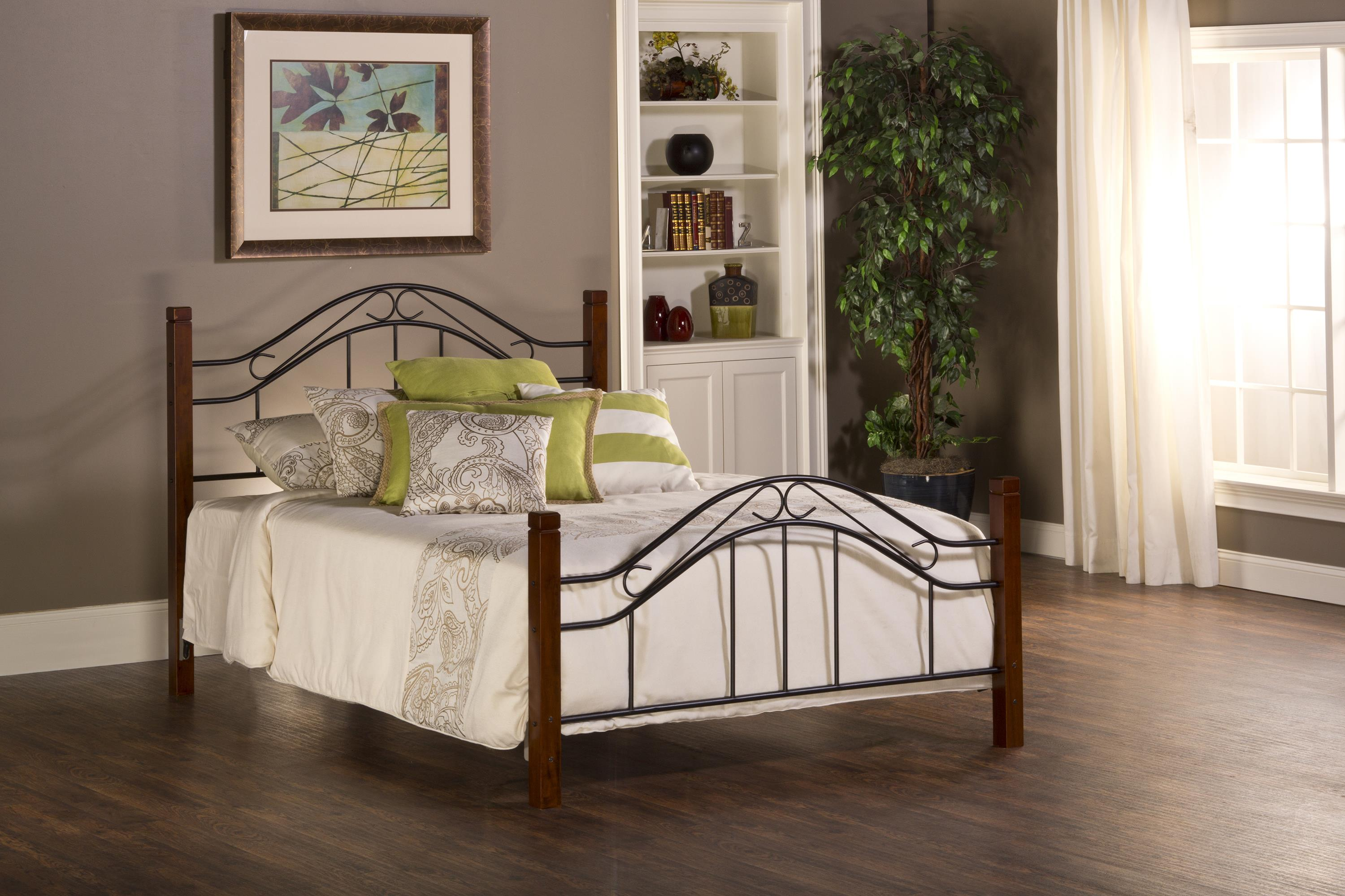 Metal Beds Matson Twin Bed Set Without Rails by Hillsdale at Carolina Direct