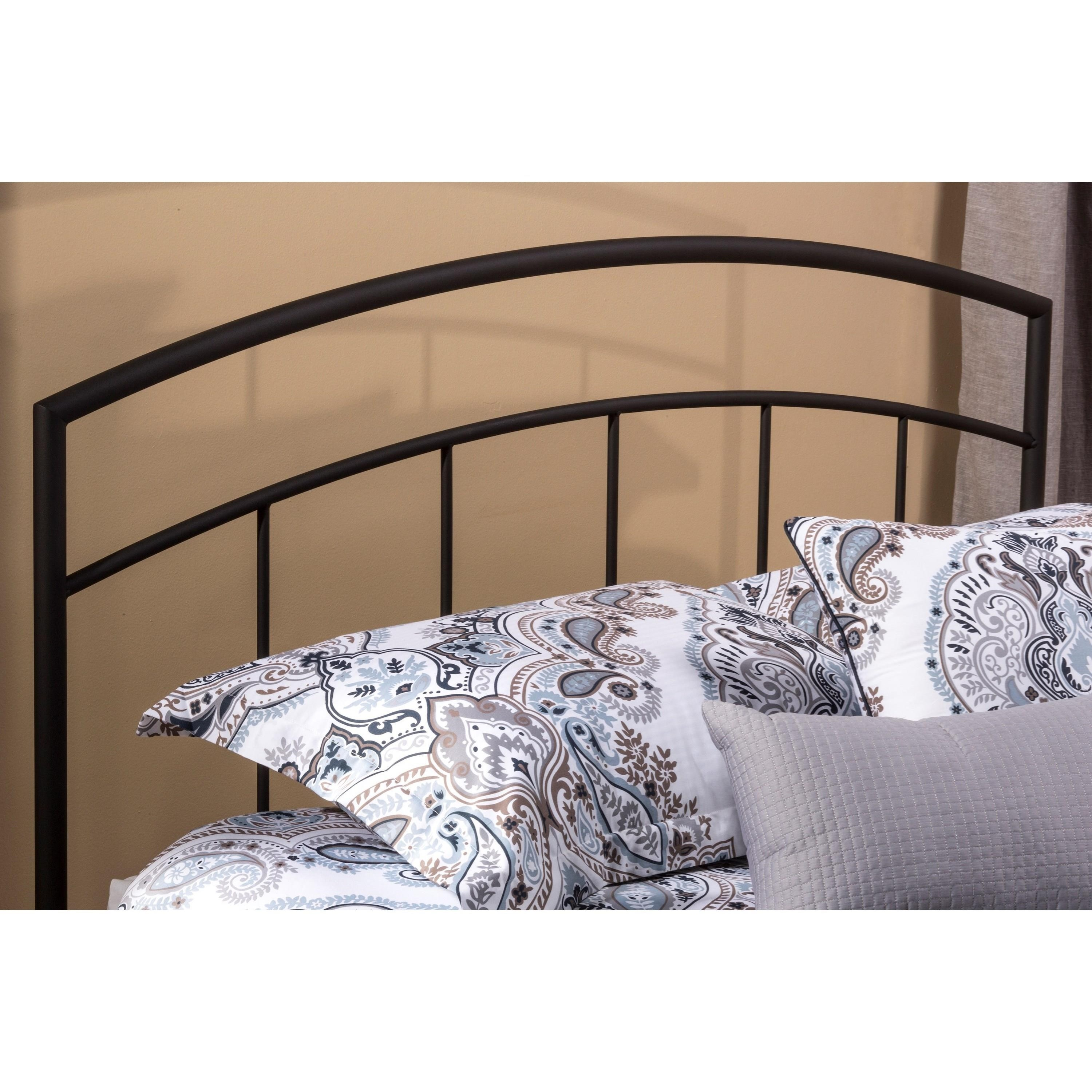 Metal Beds King Headboard by Hillsdale at Steger's Furniture