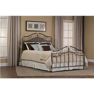 Hillsdale Metal Beds Ravella Queen Bed Set