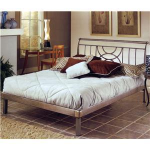 Hillsdale Metal Beds Queen Mansfield Bed