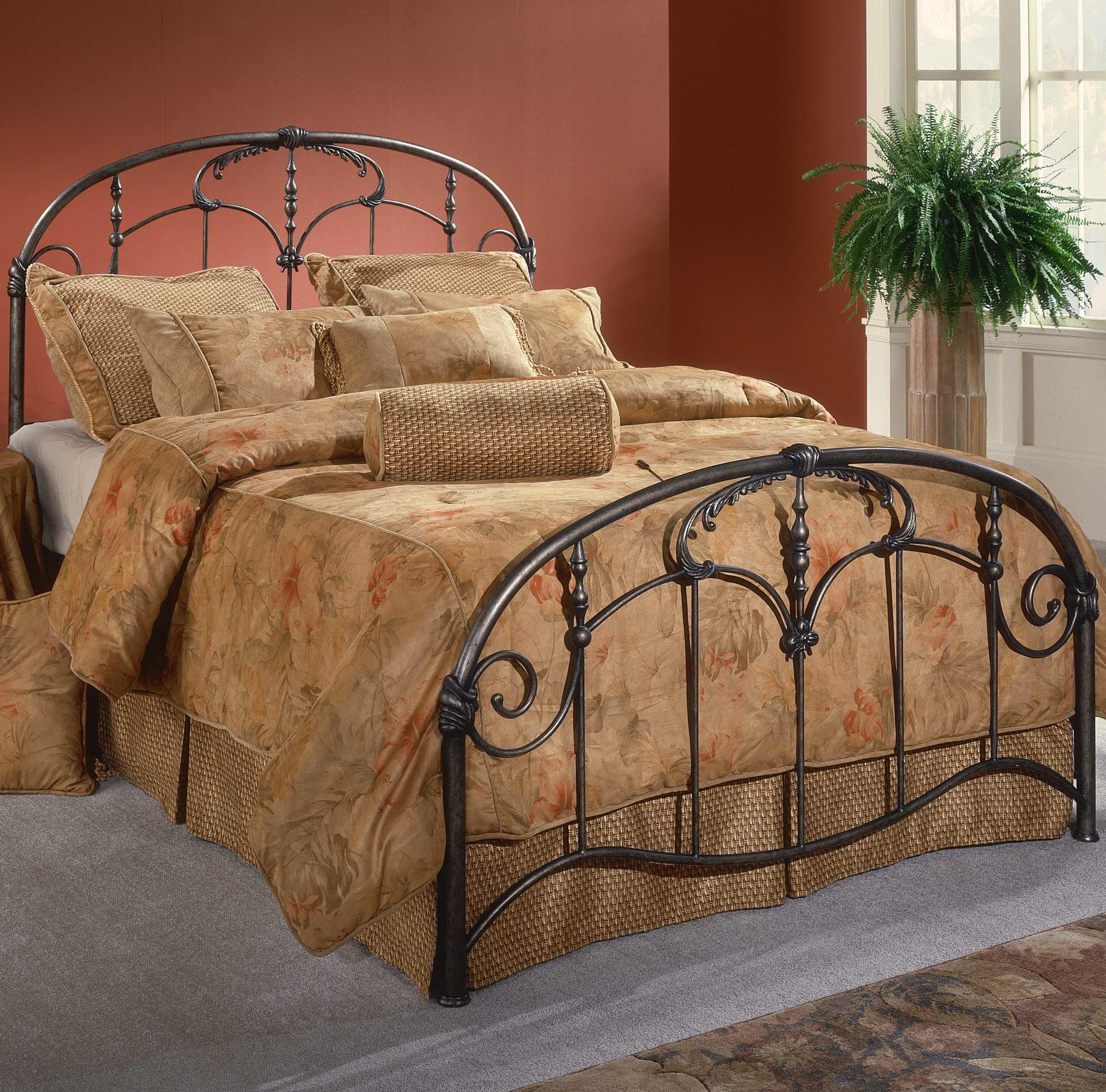 Metal Beds King Jacqueline Bed by Hillsdale at Steger's Furniture