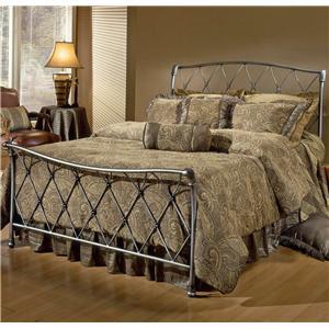 Hillsdale Metal Beds Queen Silverton Bed