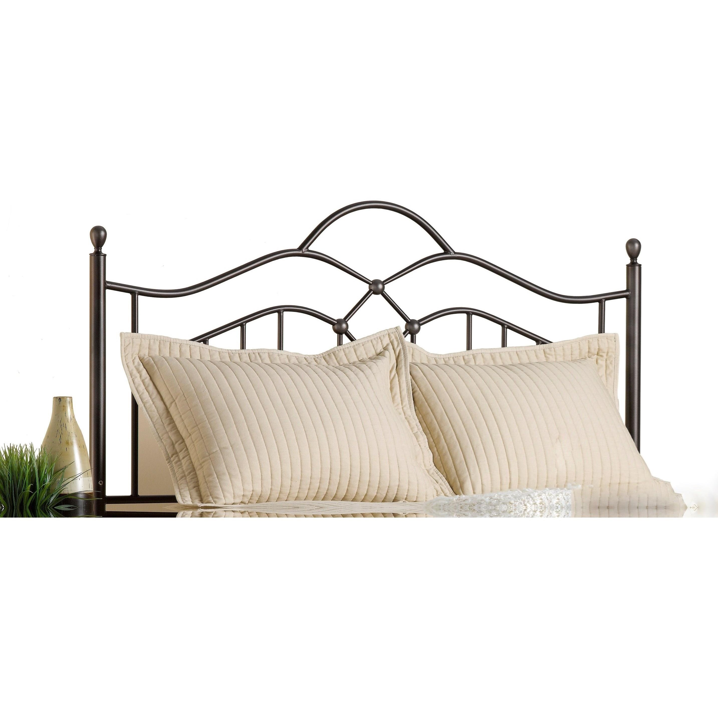 Metal Beds King Oklahoma Headboard by Hillsdale at A1 Furniture & Mattress