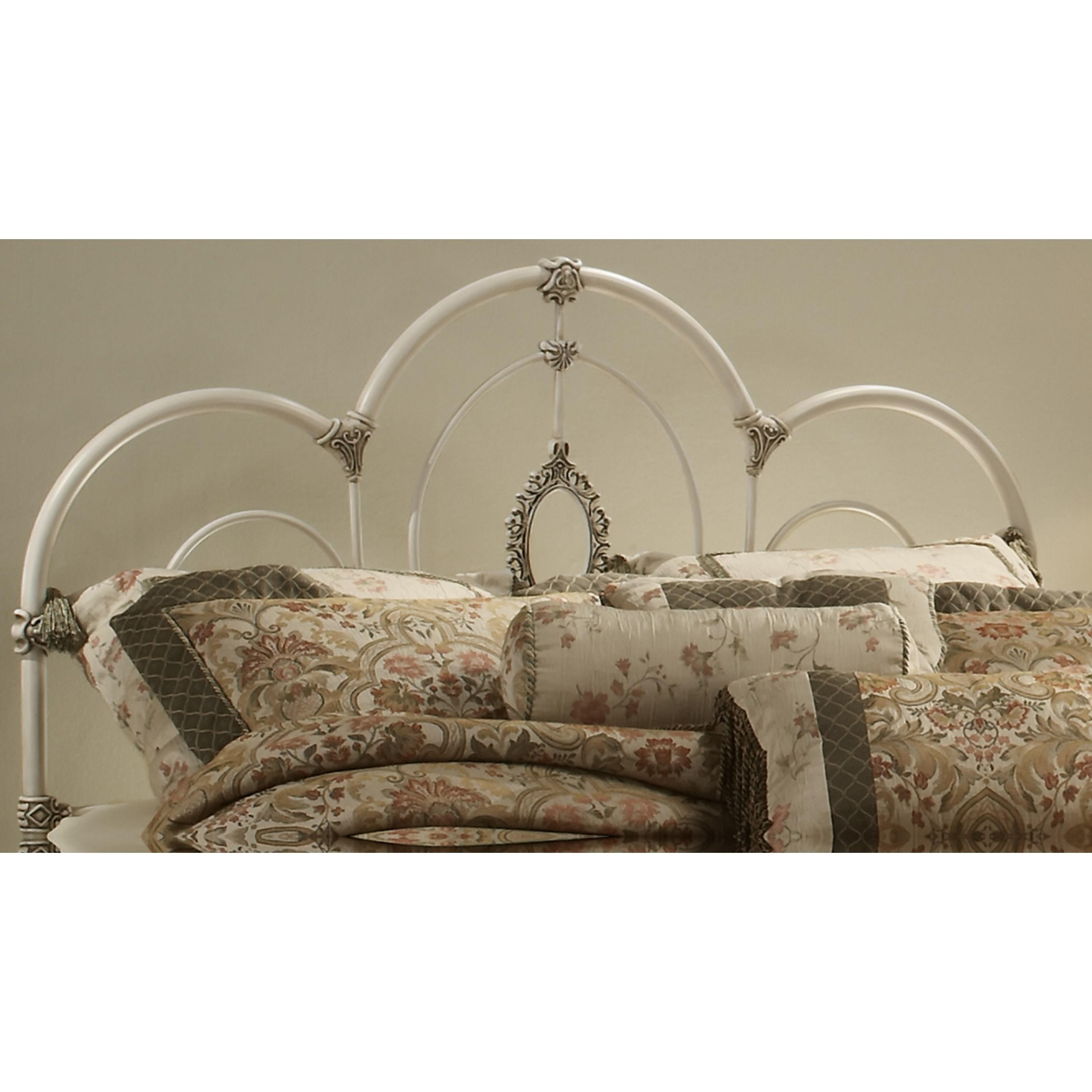 Metal Beds Twin Victoria Headboard by Hillsdale at Steger's Furniture