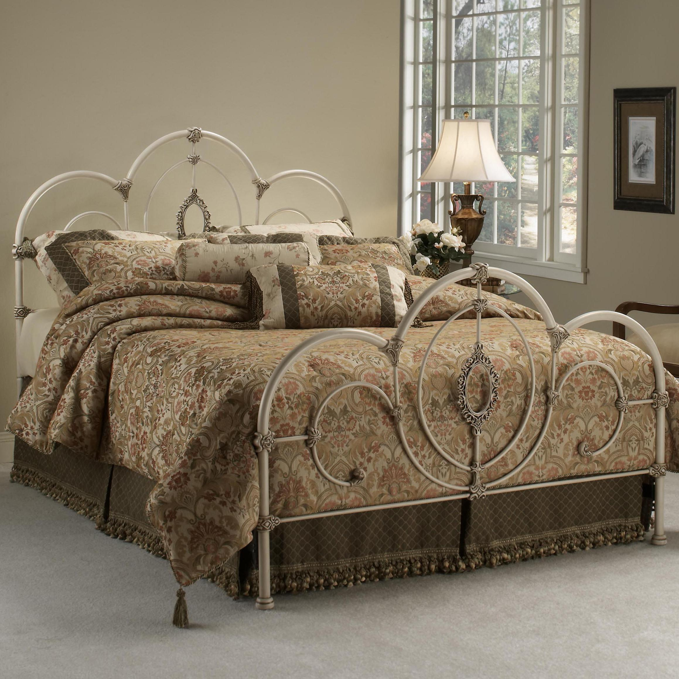 Metal Beds Queen Victoria Bed by Hillsdale at Steger's Furniture