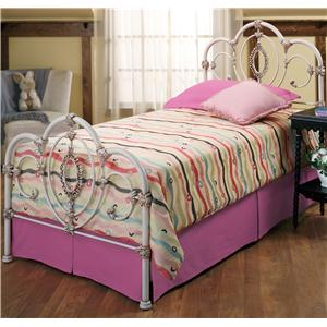 Hillsdale Metal Beds Twin Victoria Bed