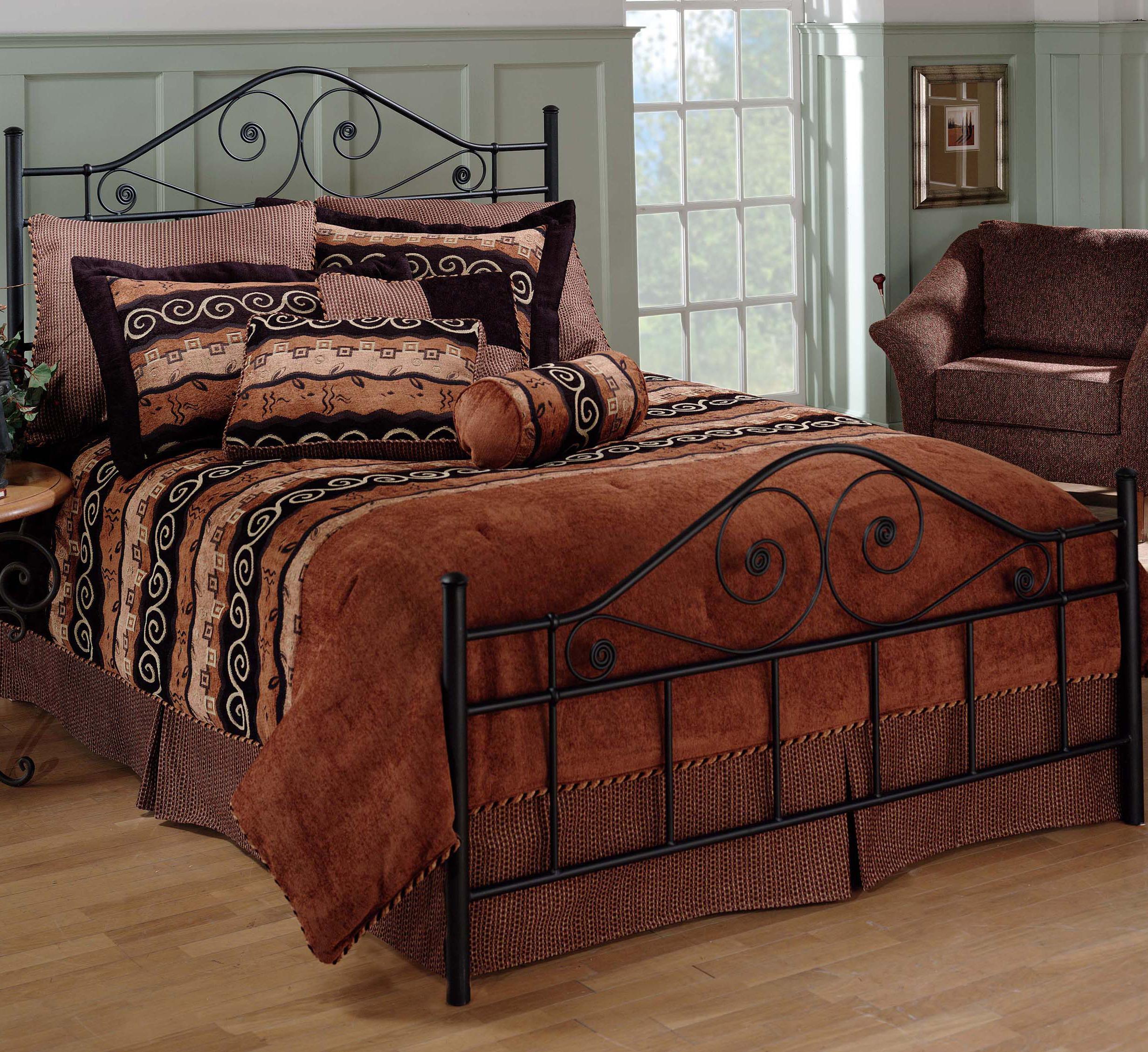 Metal Beds King Harrison Bed by Hillsdale at Steger's Furniture