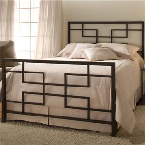 Hillsdale Metal Beds Queen Terrace Bed