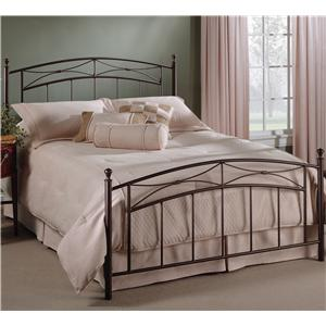 Hillsdale Metal Beds Queen Morris Bed