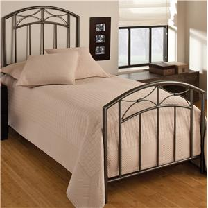 Hillsdale Metal Beds Twin Morris Bed