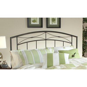 King Morris Headboard with Rails