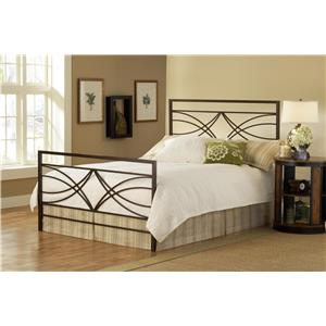 Dutton King Bed Set with Scrollwork