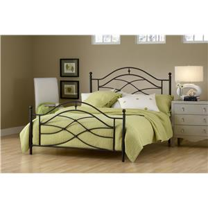 Hillsdale Metal Beds Cole King Bed