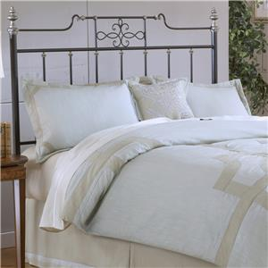 Hillsdale Metal Beds Amelia Full/Queen Headboard with Rails