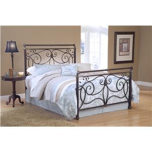 Hillsdale Metal Beds Brady Queen Bed Set