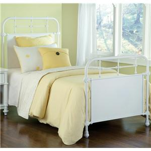 Hillsdale Metal Beds Twin Kensington Bed