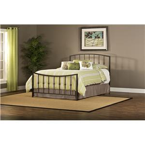 Hillsdale Metal Beds Sausalito Queen Bed Set Without Rails