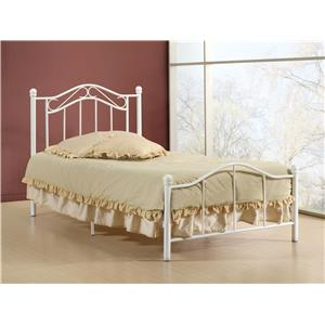 Hillsdale Metal Beds Gavin Twin Bed Set
