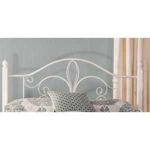 Hillsdale Metal Beds Full/Queen Ruby Wood Post Headboard