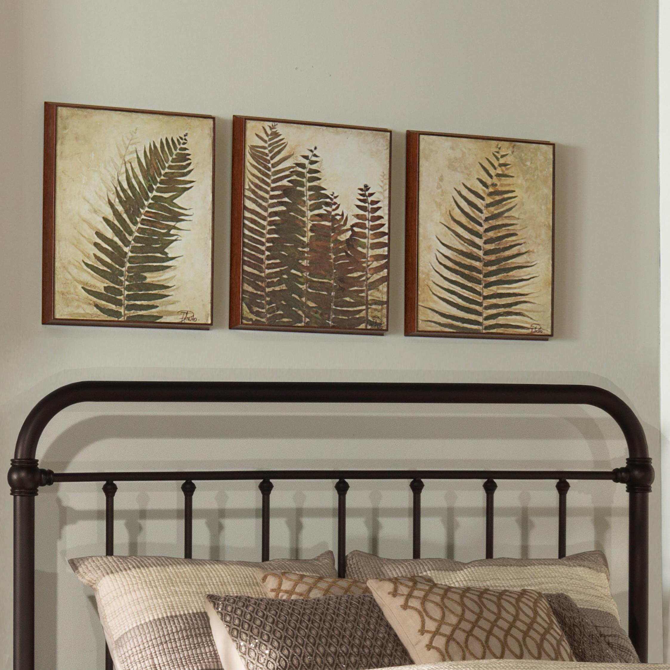 Metal Beds Full/Queen Metal Headboard by Hillsdale at Mueller Furniture