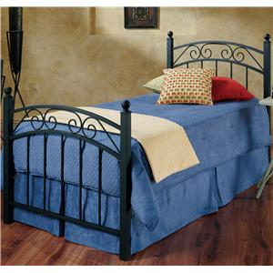 Hillsdale Metal Beds Twin Willow Bed