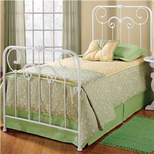 Hillsdale Metal Beds Queen Lindsey Bed