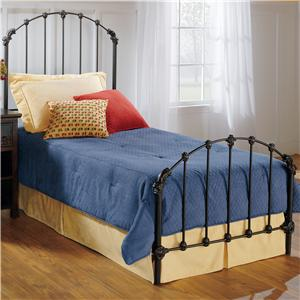 Hillsdale Metal Beds Twin Bonita Bed
